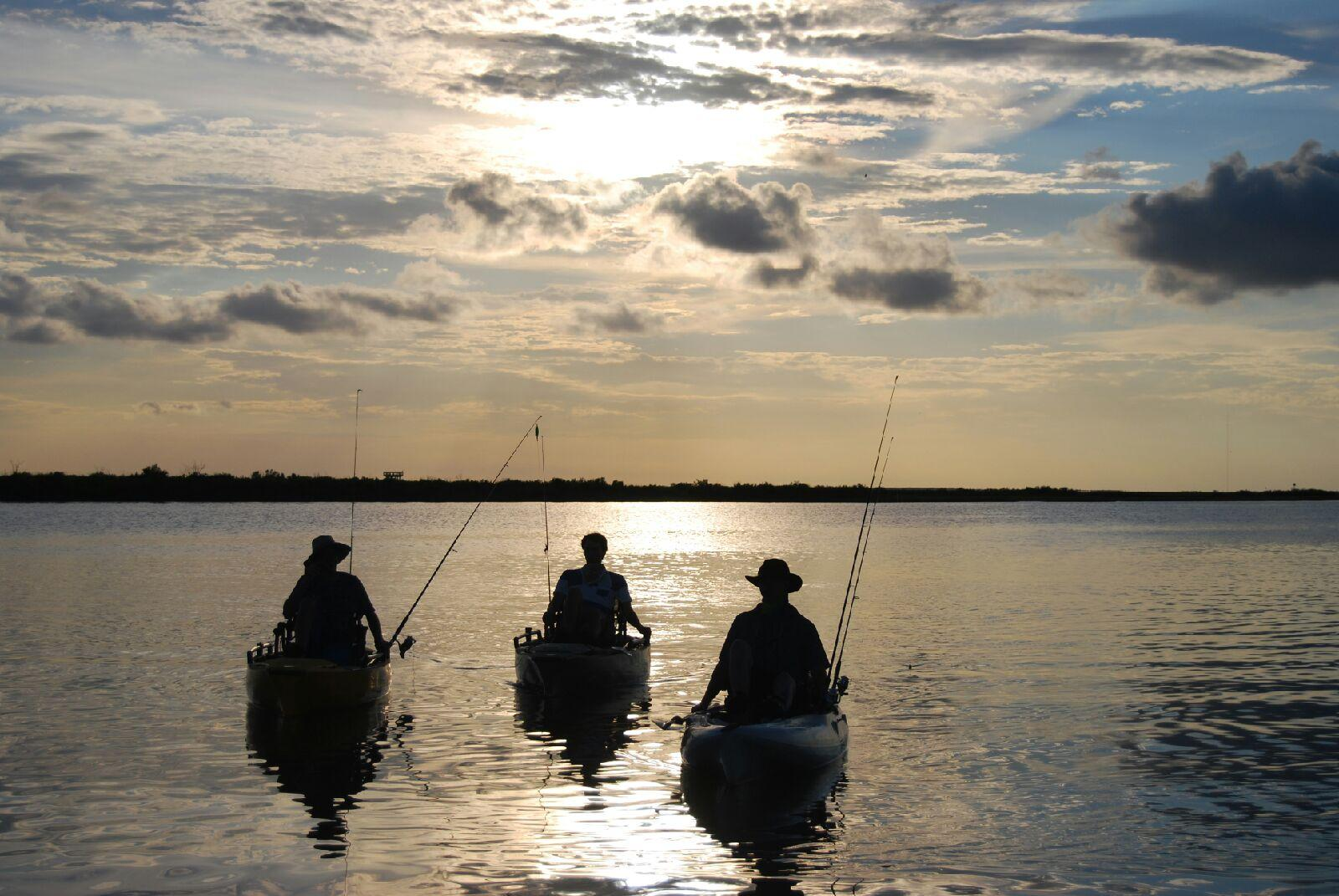 galveston island kayak fishing a great texas experience